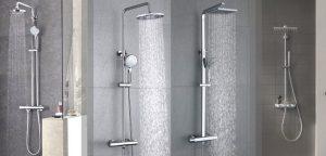 columnas de duchas termostáticas