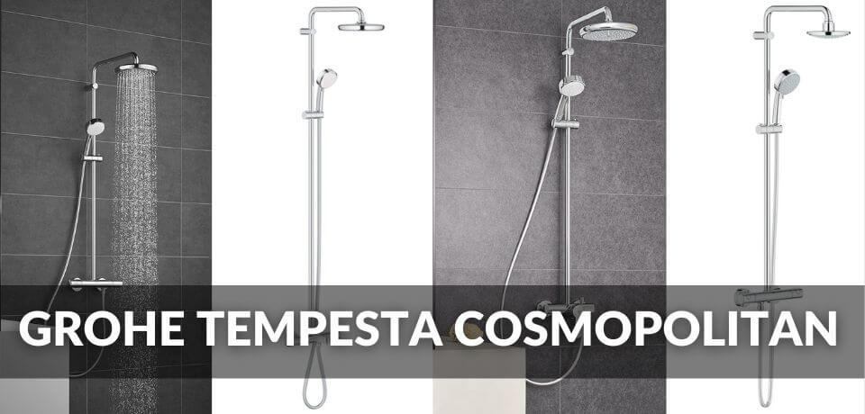 Grohe Tempesta Cosmopolitan 210 y 160