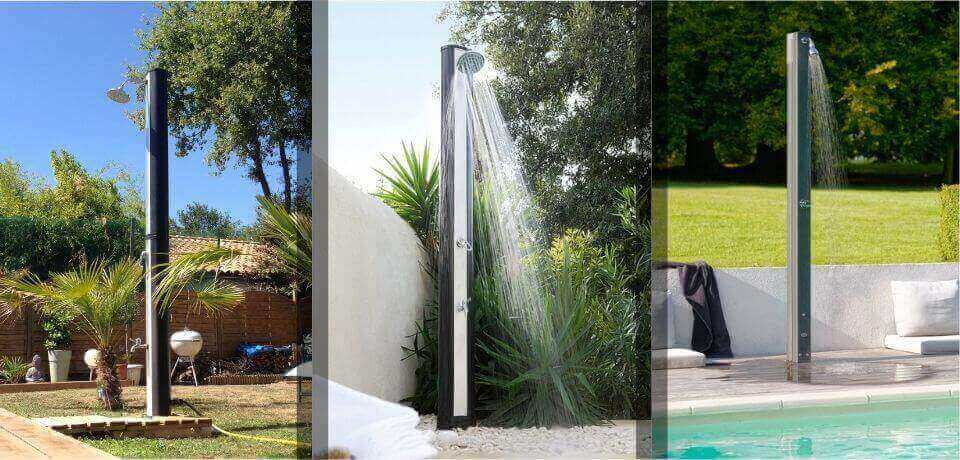 duchas solares exteriores