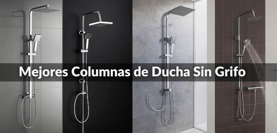 columnas de duchas sin mezclador